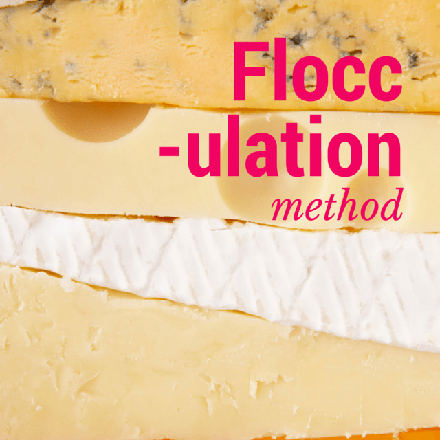 flocculation method