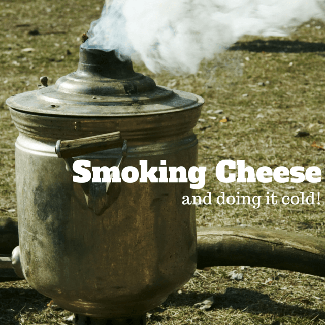 Cold smoking cheese at home