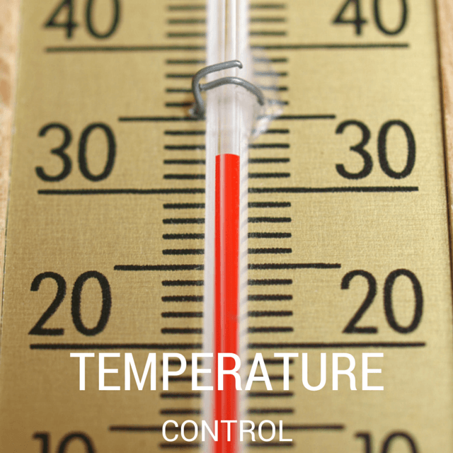 temperature control in cheese making